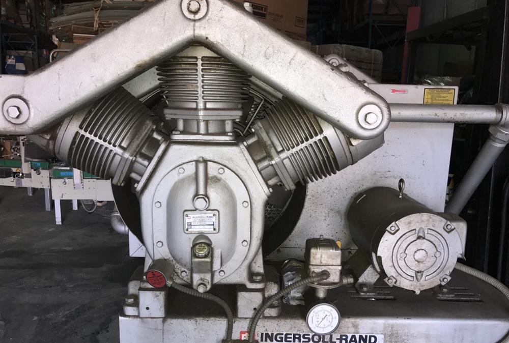 Image 15 HP INGERSOLL RAND Dual 3 Stage Vacuum Pump 1508492