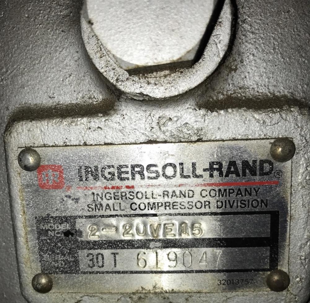 Image 15 HP INGERSOLL RAND Dual 3 Stage Vacuum Pump 1508493