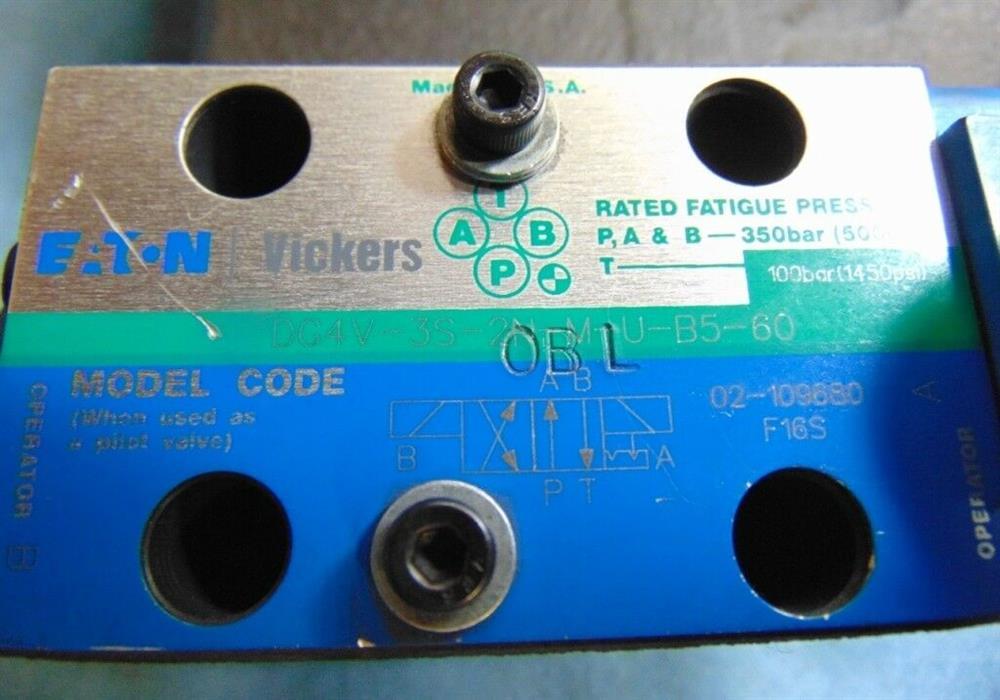 Image VICKERS EATON Hydraulic Control Valve with Pilot Valve 1508604
