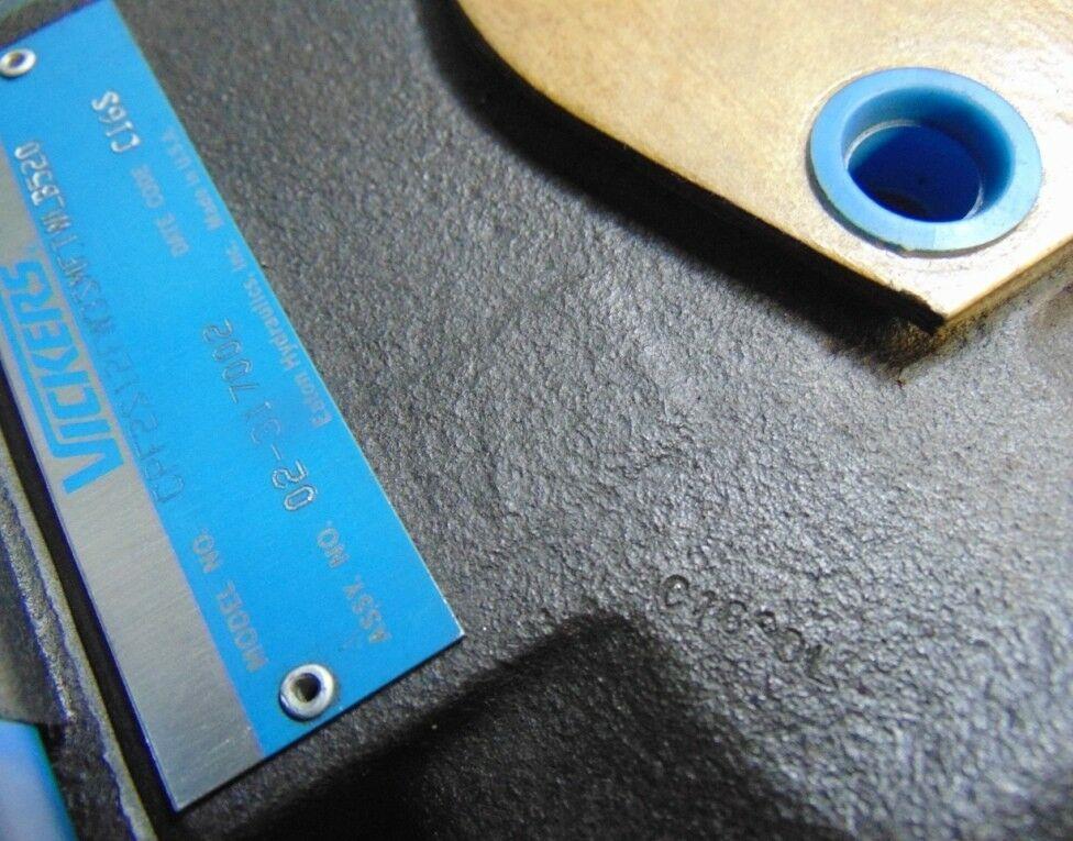 Image VICKERS EATON Hydraulic Control Valve with Pilot Valve 1508606