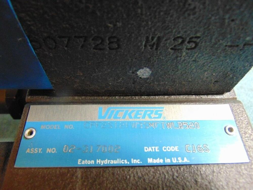 Image VICKERS EATON Hydraulic Control Valve with Pilot Valve 1508607