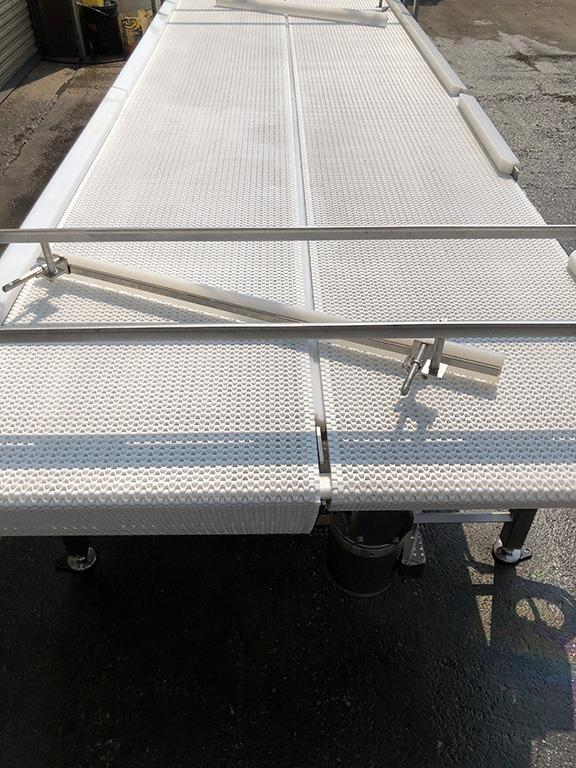 Image 4ft X 12ft L DORNER Accumulation Reflow Table - Stainless Steel, Food Grade 1514869