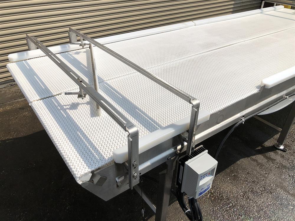 Image 4ft X 12ft L DORNER Accumulation Reflow Table - Stainless Steel, Food Grade 1514872