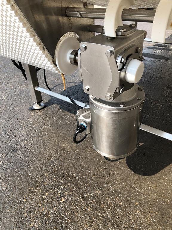 Image 4ft X 12ft L DORNER Accumulation Reflow Table - Stainless Steel, Food Grade 1514873
