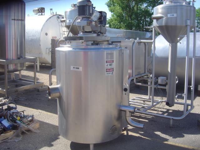 Image 100 Gallon GROEN Gas Fired Kettle 1517743