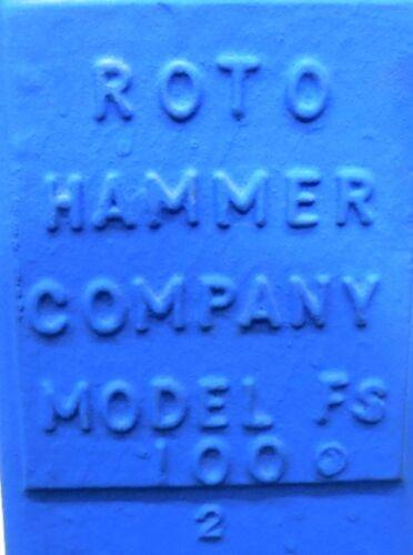 Image ROTO HAMMER INDUSTRIES Floor Stand with 12in Handwheel 1519590