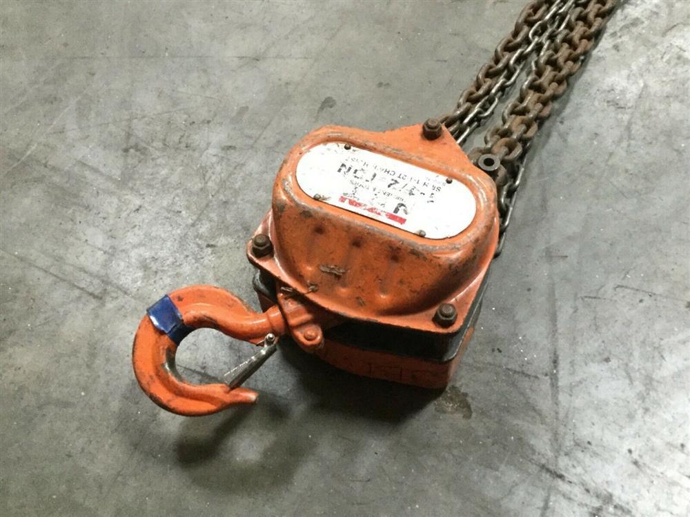 Image JET SHM-1-1/2T Chain Hoist - 1.5 Ton Capacity  1519647