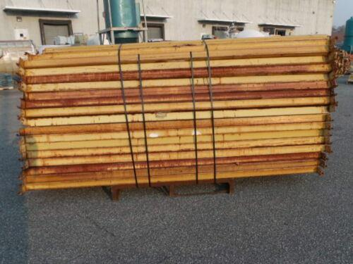 Image Lot of 63 Republic Style Pallet Rack Cross Beams - 108in 1519678