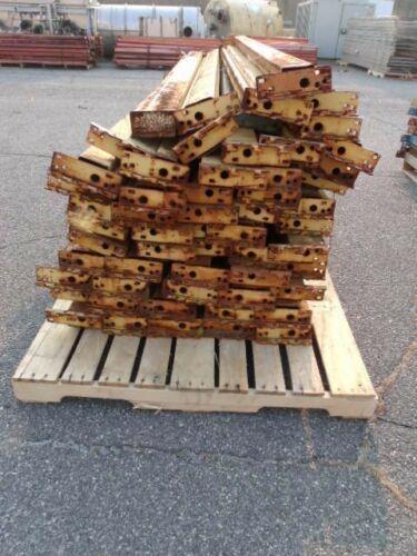 Image 108in Republic Style Pallet Rack Cross Beams - Lot of 56 1519734