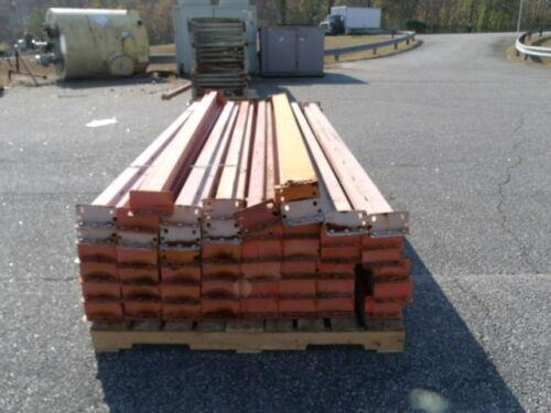 Image 96in Tear Drop Style Pallet Rack Cross Beams - Lot of 49 1519751