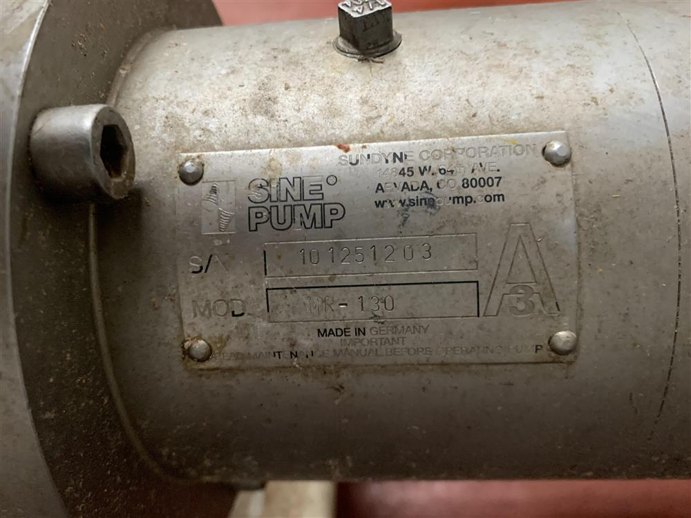 Image SINE MR-130 Positive Displacement Pump 1519810