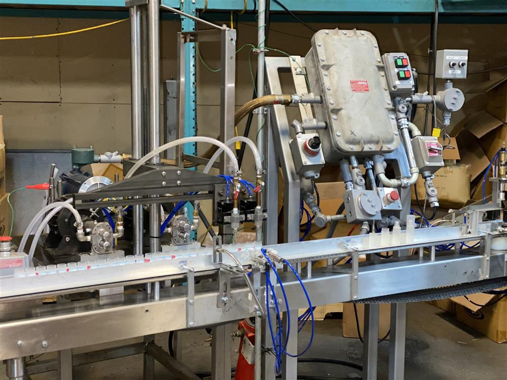 Image Fully Automatic Inline Filler Dual Pump Filling Machine - Explosion Proof 1519858