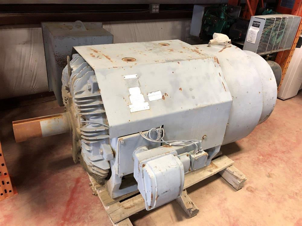 Image 400 HP TECO WESTINGHOUSE Electric Motor - 1800 RPM 575 Volt 5806B TEFC 1519935