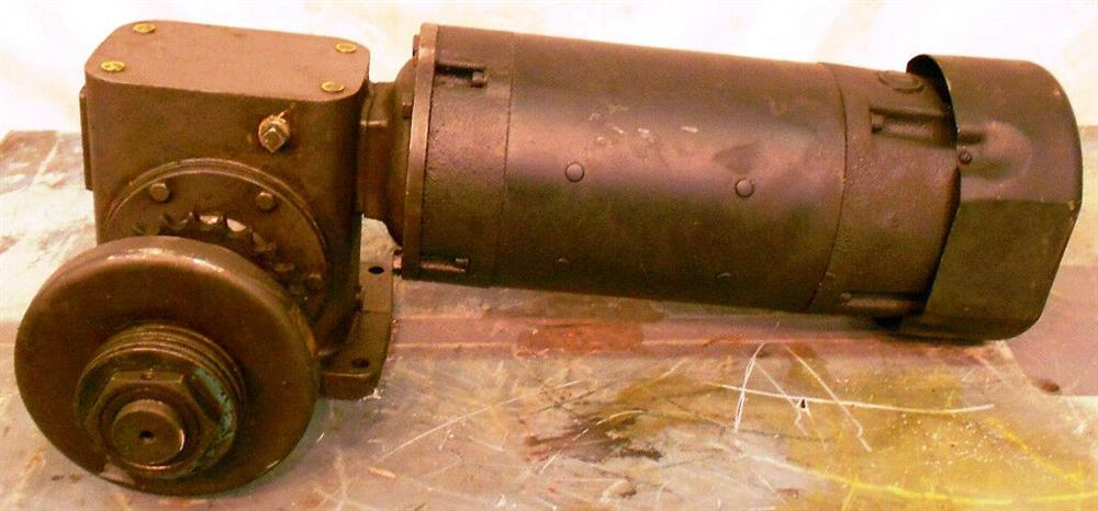 Image 1.5 HP FINCOR Motor with Worm Gear Reducer / Speed Reducer 1519939