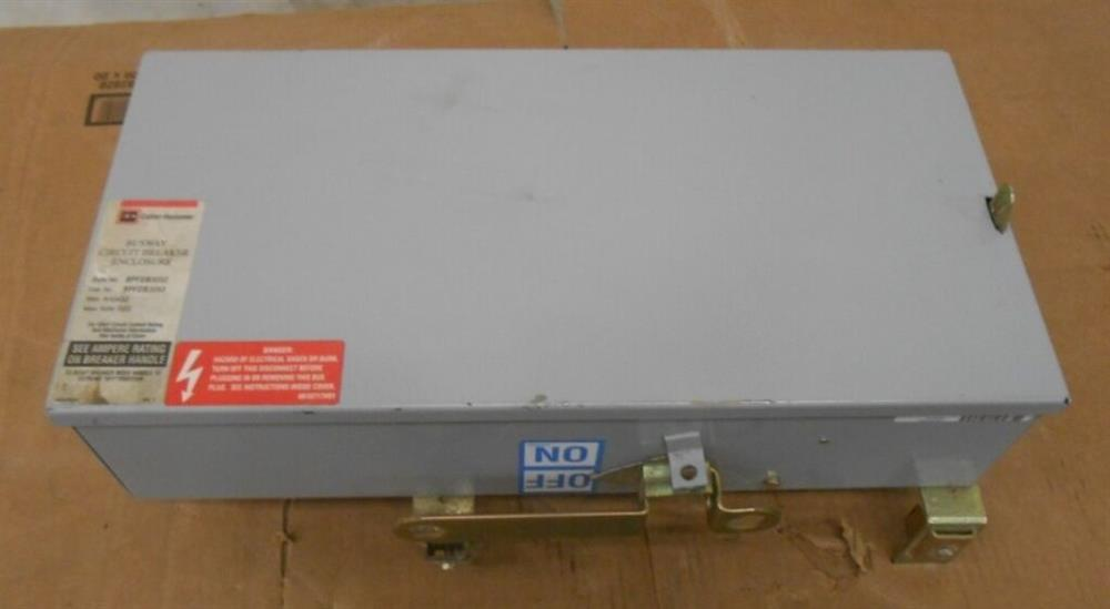 Image EATON CUTLER HAMMER Busway Circuit Breaker Enclosure 1519959