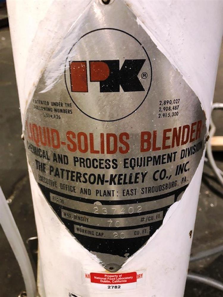 Image 20 Cu. Ft. PATTERSON KELLEY V-Blender with Liquid Solids Bar 1524489