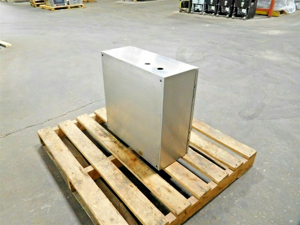 Image HOFFMAN Electrical Enclosure with Allen Bradley Panelview 1525020