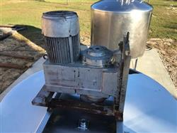 Image 600 Gallon High Shear Mixing Tank - 304 Stainless Steel 1526735