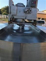 Image 600 Gallon High Shear Mixing Tank - 304 Stainless Steel 1526740