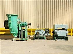 Image WARMAN Rubber Lined 800 GSL Slurry Pump with 1100 HP Motor 1527229