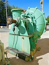 Image WARMAN Rubber Lined 800 GSL Slurry Pump with 1100 HP Motor 1527222