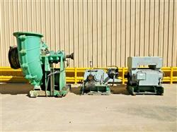 Image WARMAN Rubber Lined 800 GSL Slurry Pump with 1100 HP Motor 1527240