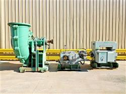 Image WARMAN Rubber Lined 800 GSL Slurry Pump with 1100 HP Motor 1527264