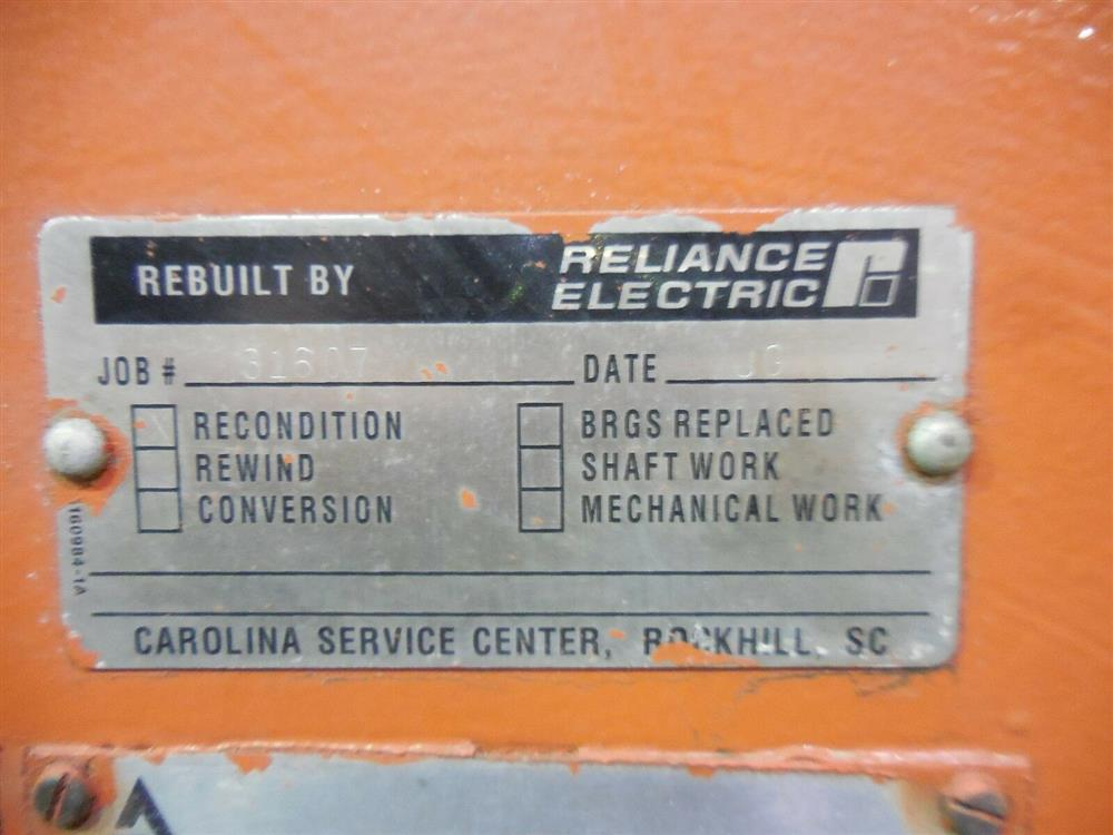 Image 3000 HP ALLIS CHALMERS Induction Motor - Type ANW 1527606