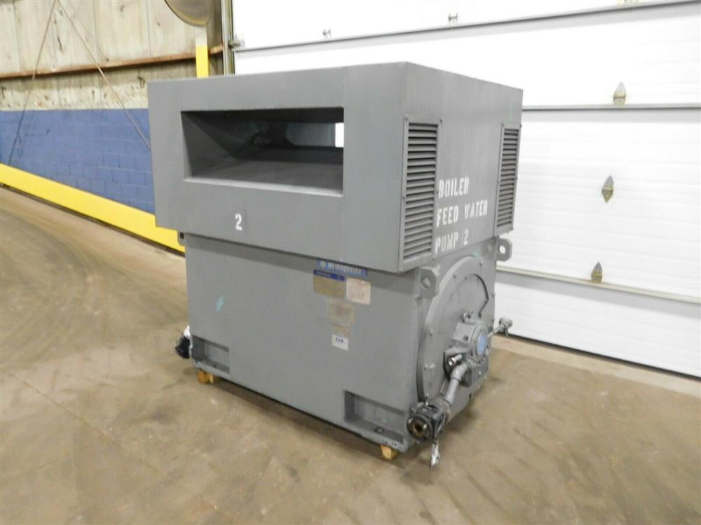 Image 2000 HP WESTINGHOUSE World Series Induction Motor 1527811