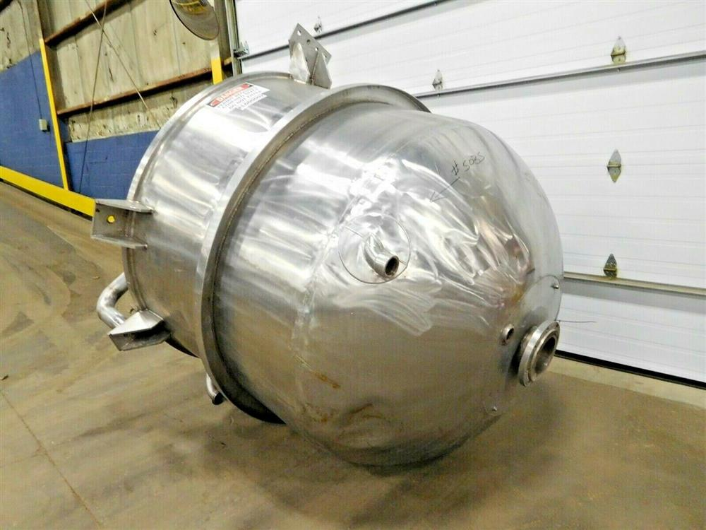 Image 700 Gallon JC PARDO & SONS Agitated Steam Jacketed Kettle - Stainless Steel 1528145
