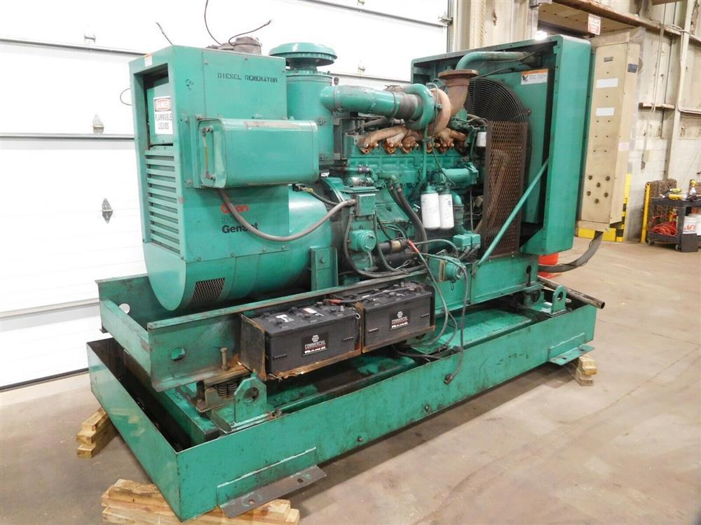 Image ONAN 300.ODFM-17R/31121N Genset Diesel Generator 1528340