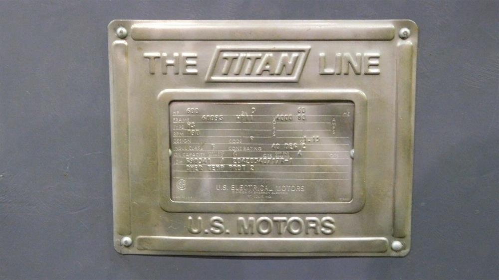 Image 600 HP US MOTORS Type MS Electric Motor 1529713