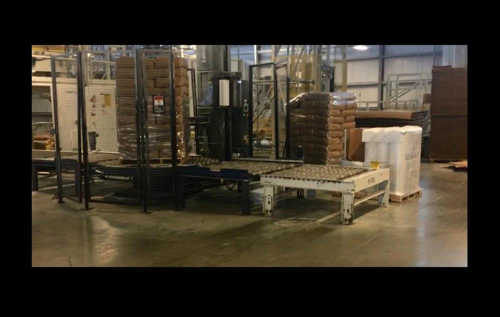 Image LANTECH Q1000 Automatic Pallet Stretch Wrapper 1530060