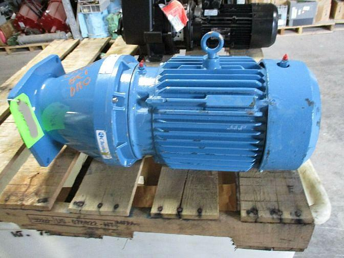 Image 3 HP CHEMINEER Gear Reduced Vertical Down Mixer 1531767