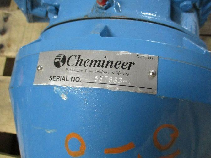 Image 3 HP CHEMINEER Gear Reduced Vertical Down Mixer 1531768