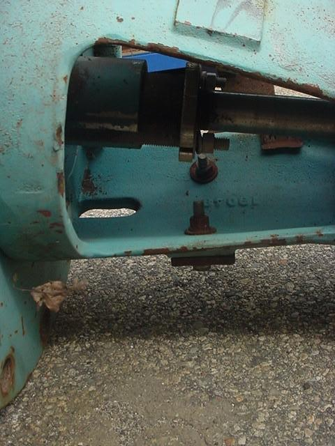 Image 1.5 HP CHEMINEER VLA-15 Vertical Down Flange Mount Mixer 1531781