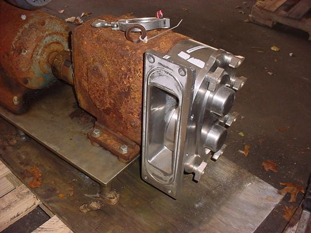 Image 3in WAUKESHA Displacement Pump - Stainless Steel, 9 X 3 Inlet 1531799