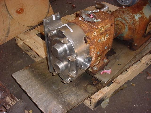 Image 3in WAUKESHA Displacement Pump - Stainless Steel, 9 X 3 Inlet 1531801