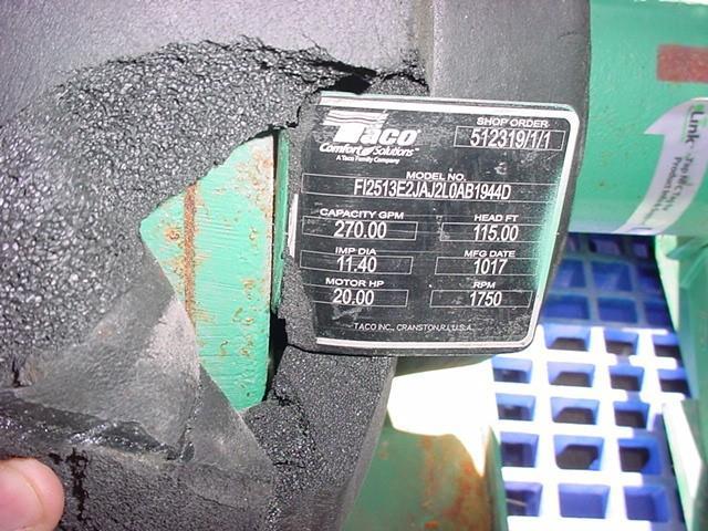 Image 3 X 2.5in TACO Centrifugal Pump - Cast Iron 1531808