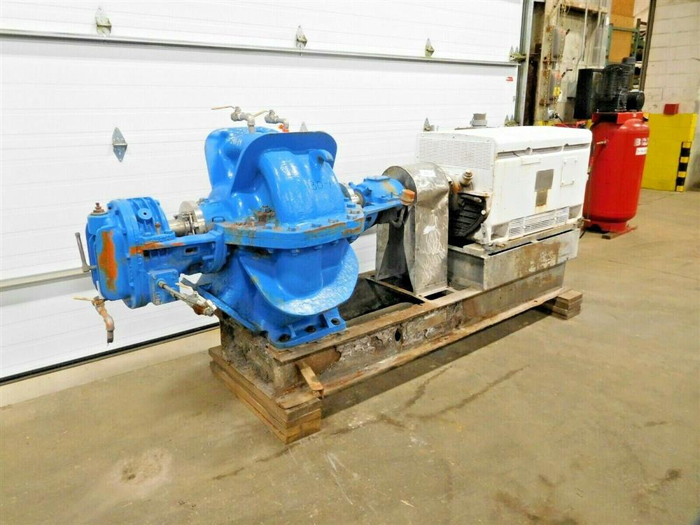 Image HAZLETON 8-2 Centrifugal Pump with 500 HP Motor 1531821