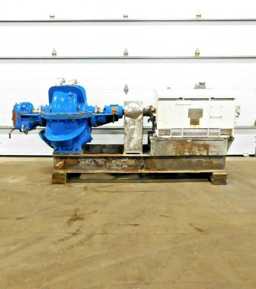 Image HAZLETON 8-2 Centrifugal Pump with 500 HP Motor 1531831