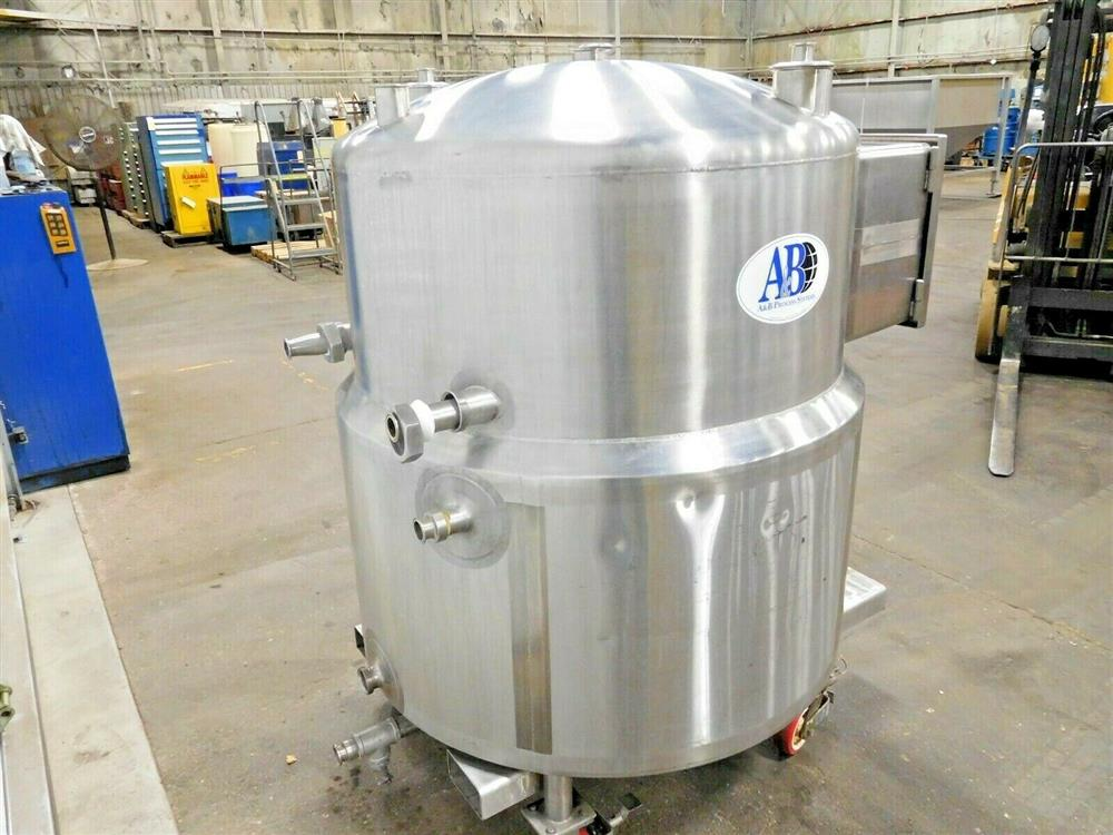 Image 150 Gallon A&B PROCESS SYSTEMS Jacketed Tank with Racking 1531858