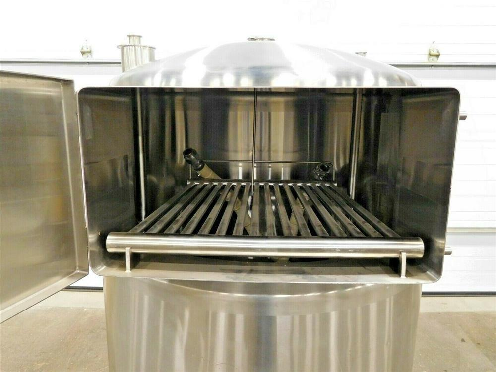 Image 150 Gallon A&B PROCESS SYSTEMS Jacketed Tank with Racking 1531859