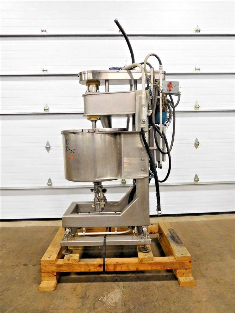 Image 30 Gallon Mixer - Stainless Steel 1531985