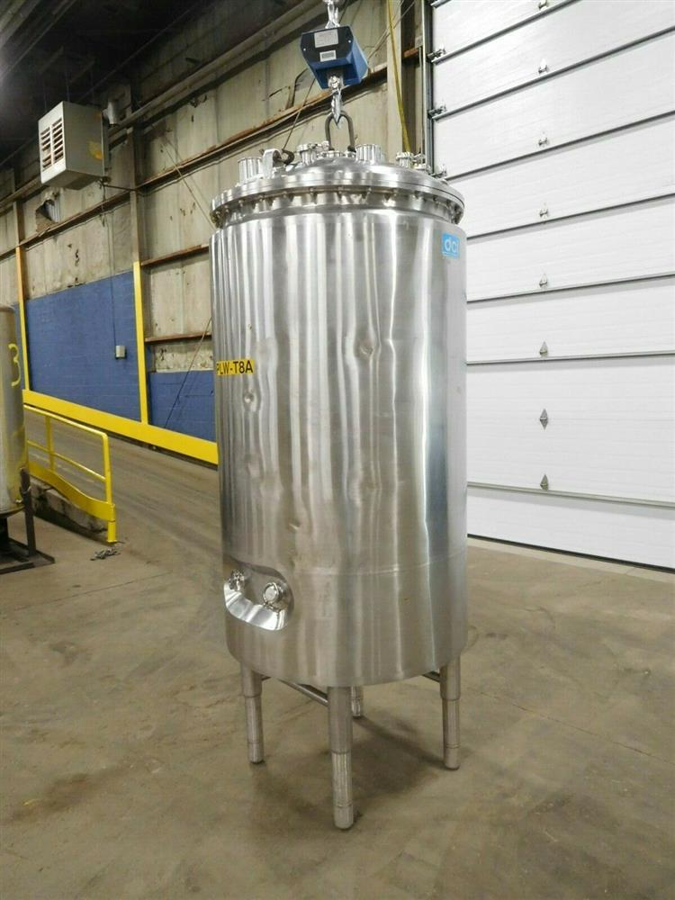 Image 1000 Liter DCI Jacketed Tank - Stainless Steel 1532055