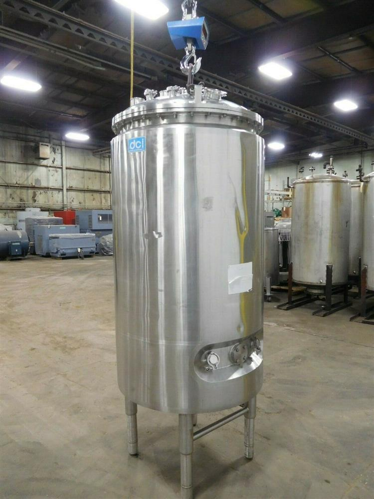 Image 1000 Liter DCI Jacketed Tank - Stainless Steel 1532056