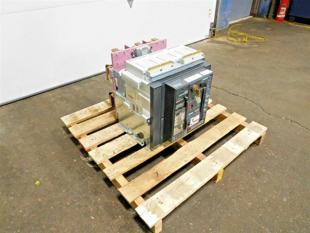 Image SIEMENS WLF2A320 Integrated Cubicle Bus Power Circuit Breaker 1532068