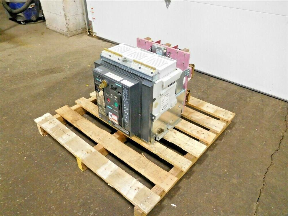 Image SIEMENS WLF2A320 Integrated Cubicle Bus Power Circuit Breaker 1532069