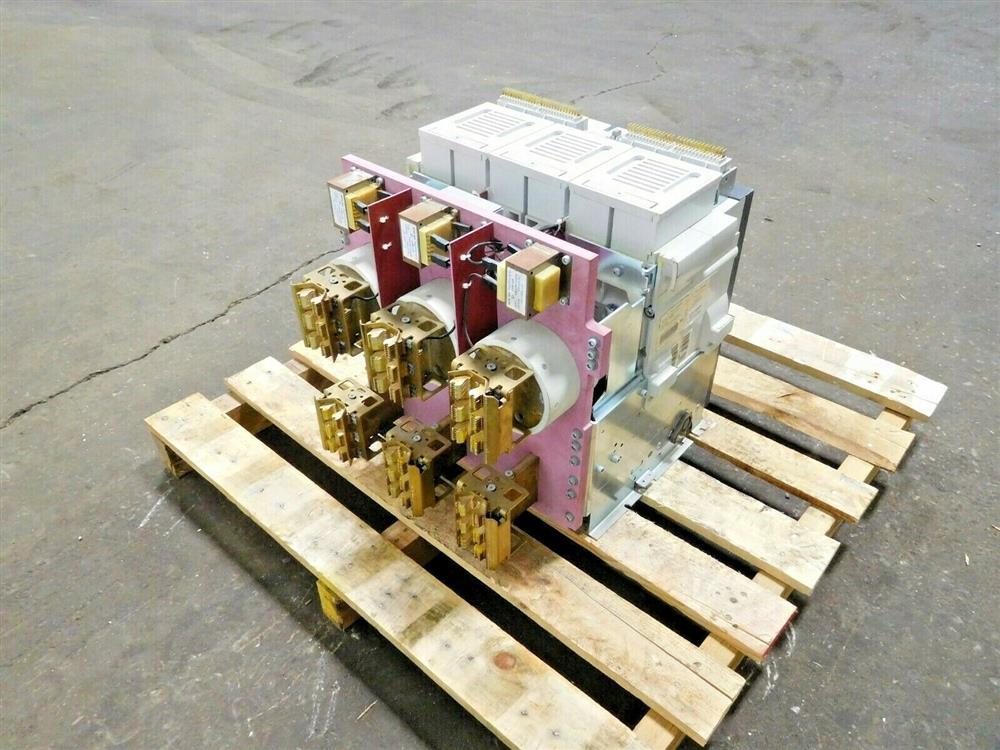 Image SIEMENS WLF2A320 Integrated Cubicle Bus Power Circuit Breaker 1532071
