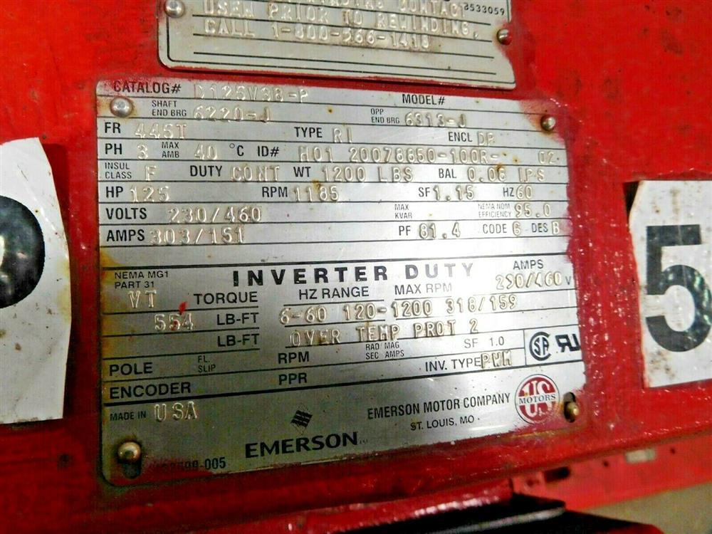 Image BELL GOSSETT VSX VSH 16.125 Pump 1532135